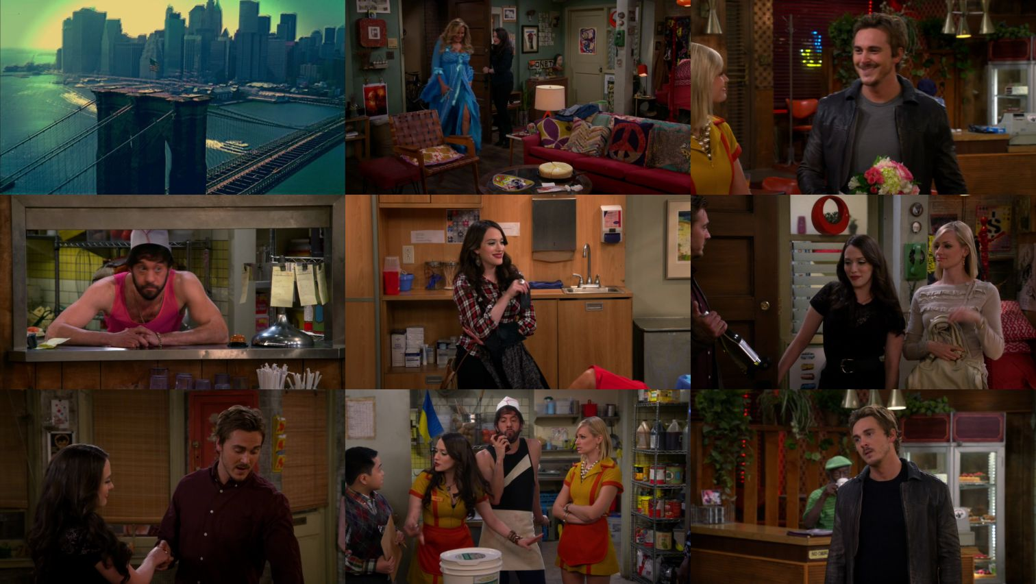 2 Broke Girls S05E06 HDTV x264-LOL