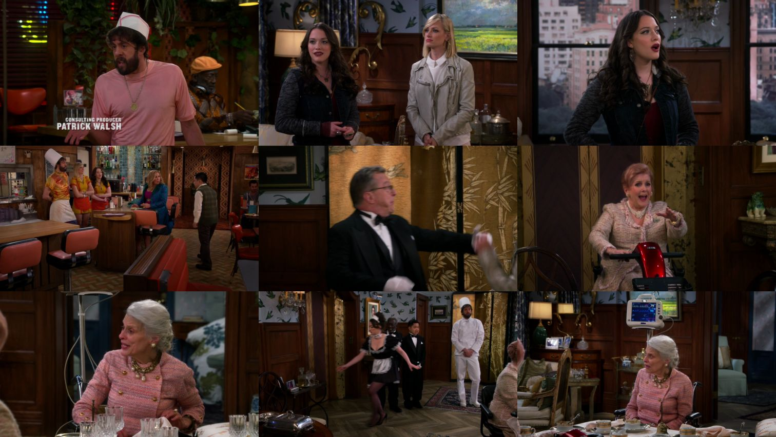 2 Broke Girls S05E07 HDTV x264-LOL